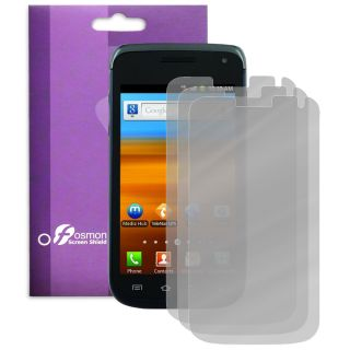 3X Fosmon Anti Glare Clear Screen Protector for Samsung Exhibit II 4G 3 Pack