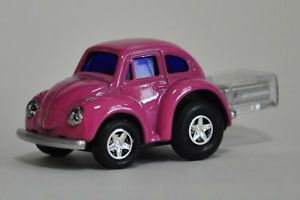 Pink VW Beetle Car USB Flash Drive 4 GB