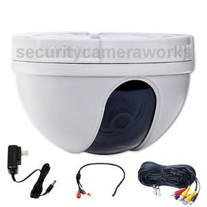 Audio Dome Color CCD Security Camera Wide Angle for Home CCTV Surveillance BYD