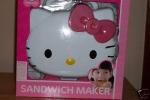 Hello Kitty Sanrio Sandwich Maker Small Appliance New