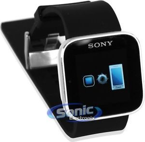 Sony MN2SW 1254 6227 Bluetooth Smartwatch for Android Smartphones Cell Phones