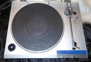 Sony PS LX1 Direct Drive Automatic Turntable Works Great Super Clean