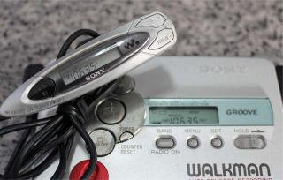 Sony Walkman Auto Reverse Recording Am FM Radio Cassette Player GX670