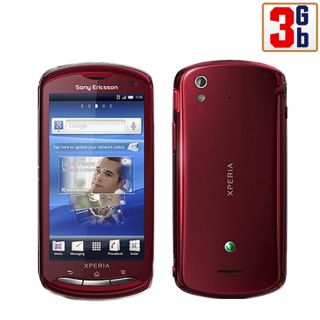 New Sony Ericsson Xperia Pro MK16i 3GB Red WiFi Android Unlocked GSM Cell Phone