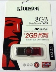 Kingston DataTraveler 8GB USB Flash Drive