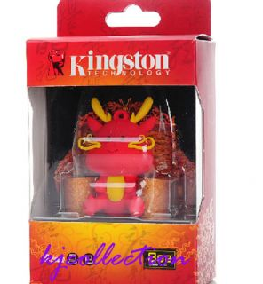 Kingston Dragon 8GB 8g USB Pen Flash Drive Disk Year Limited Cute Figure