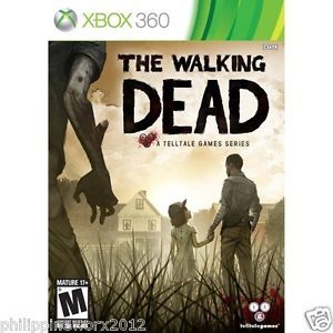 The Walking Dead Tell Tale Games Xbox 360 2012 Brand New Factory SEALED 047875769977