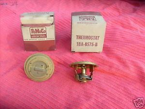 48 52 Ford Lincoln Mercury Thermostats 1BA 8575 B Parts Read Description