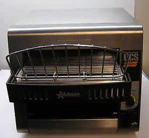 STAR HOLMAN 1600 WATTS 350 SLICES PER HOUR CONVEYOR OVEN TOASTER QCS 1 350