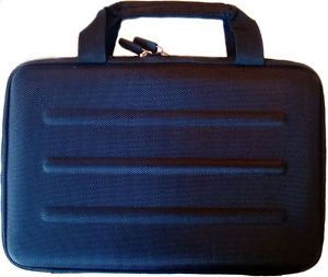 Microsoft Surface 2 RT or Pro Deluxe Black Hard Shell Zippered Travel Case Eva