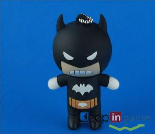New 4GB Cool Cartoon USB 2 0 Flash Memory Disk Drive Pen Batman Shape