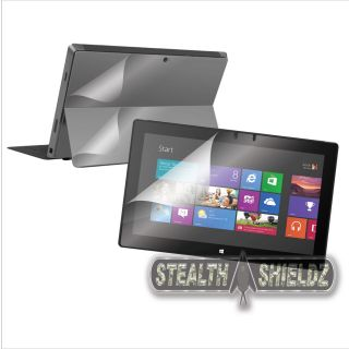 2 Pack s Shieldz Full Body Screen Protector Skin Guard for Microsoft Surface Pro