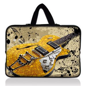 "17"" Guitar Laptop Sleeve Bag Case Cover for 10 6"" Microsoft Surface RT Tablet PC"