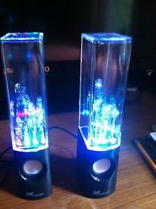 Xcellon USB Water Speaker LED Light Dancing Portable Watershow Speakers