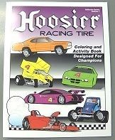 Hoosier Race Tire Coloring Book Sprint Car