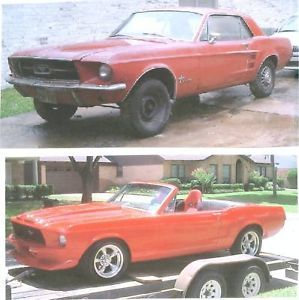 "1965 1966 69 Ford Mustang Convertible Roadster Conversion ""How to"" Video ""DVD"""
