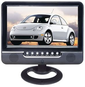 "9 5"" TFT LCD TV Monitor with USB FM Radio Card Reader DPF Home Car Use New"
