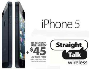 Straight Talk ATT Nano Sim Card iPhone 4 4S 5 5S 5c S3 S4 Unlocked GSM Phones