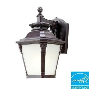 Hampton Bay Seville Wall Mount Outdoor Lantern 152476