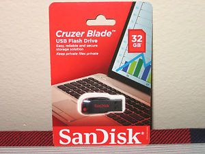 SanDisk Cruzer Blade 32 GB USB Flash Drive