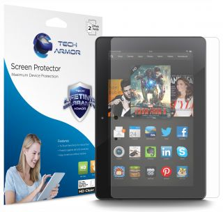 Tech Armor Kindle Fire HDX 8 9 inch 2013 Release HD Clear Screen Protector