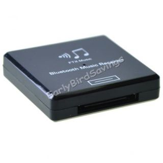 Black Bluetooth Wireless A2DP Music Audio Receiver Adapter for iPod iPhone iPad