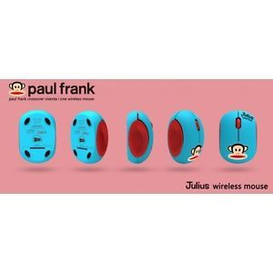 Paul Frank Julius Wireless Mouse Limited Edition Blue