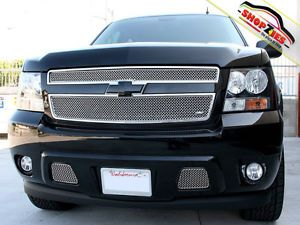 Chevy Avalanche Mesh Grille Grill Upper Insert 2pc Grillcraft Che 1507 SW