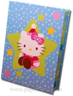 Hello Kitty Keepsake Assortment 15 Boxed Christmas Cards by Paper Magic