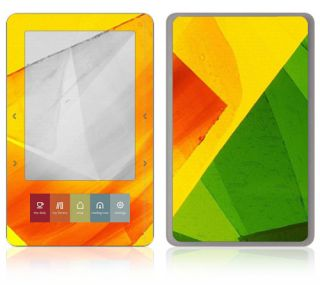 AT7 Barnes Noble Nook Color Touch Decal Skin Sticker Cover Colored Leaf