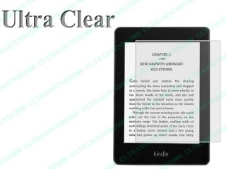 3X Ultra Clear LCD Screen Protector Guard for  Kindle Paperwhite Kindle 4