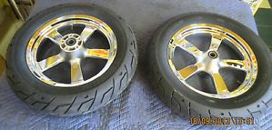 Harley Davidson Fat x5 Spoke Wheels Michelin Tires