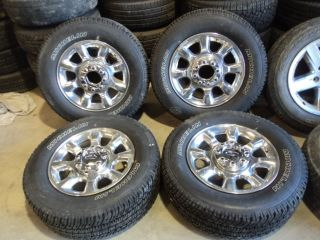 "Factory 20"" Ford Super Duty F250 F350 Aluminum Wheels and Michelin Tires"