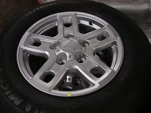"4 18"" Toyota Tundra Sequoia 5 Spoke Wheels Rims Michelin Tires"