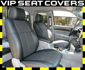 2005 2011 Toyota Tacoma Double Cab Leather Seat Covers
