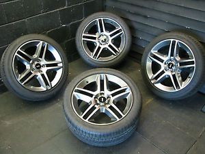 Ford Mustang GT 500 Factory Wheels Rims Goodyear Tires 3814