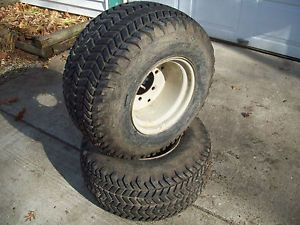 Bolens John Deere Wheelhorse 26x12x12 Goodyear Tires and 6 Bolt Rims