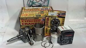 '90 01 CR500R CR500 Hot Rods Wiseco 2 Big Bore Motor Engine Rebuild Kit Sleeve