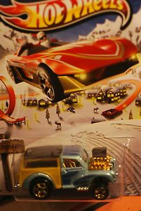 2013 Hot Wheels Morris Wagon Holiday Hot Rods Hard to Find