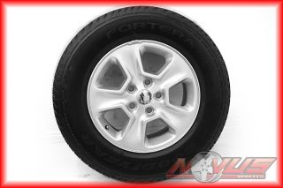 "17"" 2013 Jeep Grand Cherokee Factory Silver Wheels Goodyear Tires 18 20 2013"