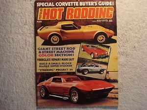 Popular Hot Rodding July 1975 Hot Rods Custom Hop UPS Race Cars Trucks