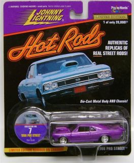 Hot Rods Pro Street Johnny Lightning Diecast 1 64