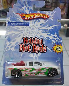 VHTF 2009 Hot Wheels Wal Mart Exclusive Holiday Hot Rods '07 Chevy Silverado