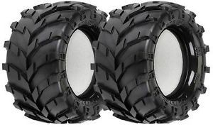 "Pro Line Masher 2 8"" Traxxas Bead Truck Tires Stampede Rustler 1192 00 119200"