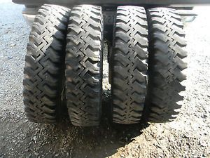 8 25 20 Truck Tires and Wheels from GMC Chevy Dump Truck Dually 8 25x20 Used