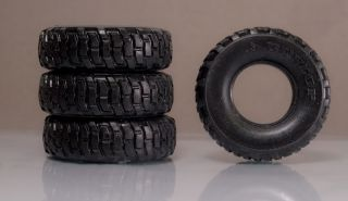 1 24 Resin Rubber Offroad Unimog 4x4 Semi Truck Tires