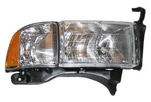New Replacement Headlight Assembly RH for 1999 01 Dodge RAM Sport