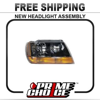 Prime Choice New Right Passenger Side Headlamp Headlight Assembly Replacement RH