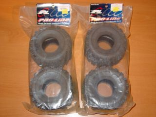 Proline 1056 Giant Trac Tamiya Clod Buster Truck Tires Set of 4 New Old Stock