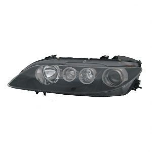 Smoked Headlight Assembly Driver Side Left Fits 2006 2008 Mazda 6 Sport